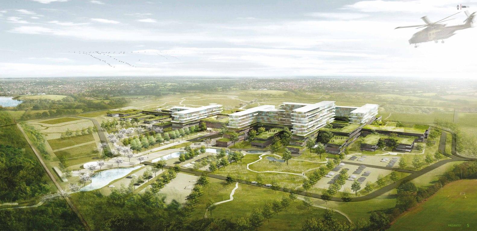 Risikoanalyse mit BIM beim Neuen Krankenhaus im Westen - Gødstrup